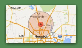 Houston Texas Service Area