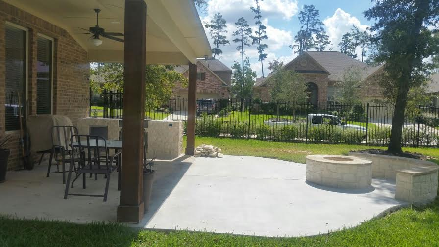 Concrete Driveways Amp Patios In Spring Tx Best Repair