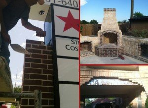 brick repair specialists in Houston