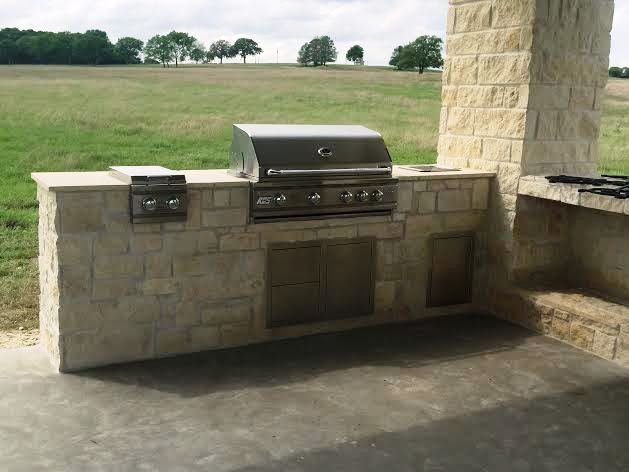 limestone outdoor designs