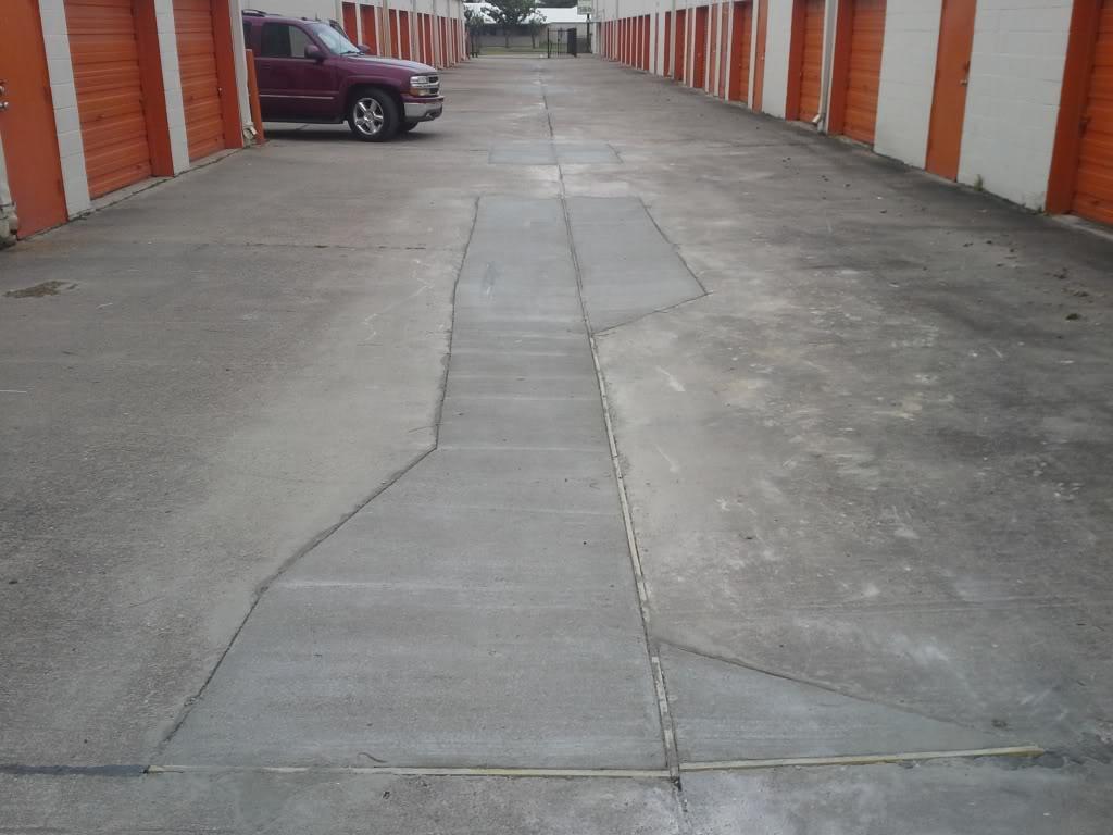 storage parking area repair image