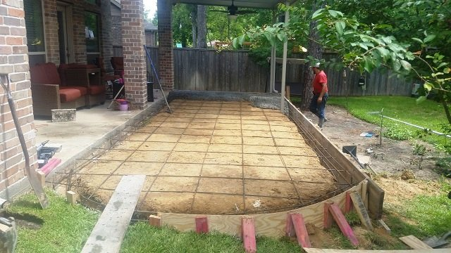 concrete patio ideas backyard stamp concrete patio ideas backyard with cool concrete patio finishes ideas style