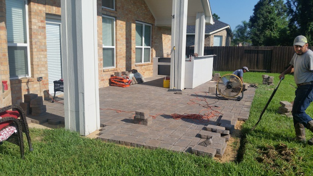 install pavers