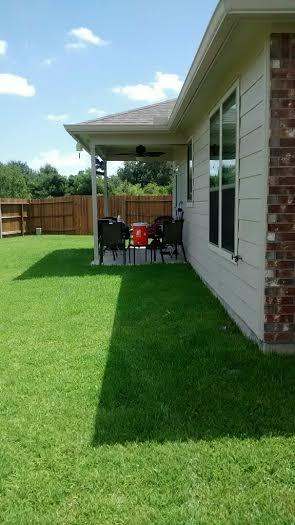 building concrete patios