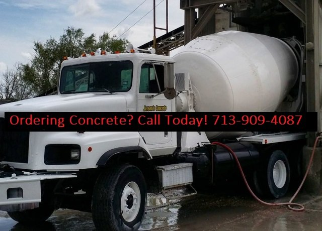 concrete delivery Spring TX