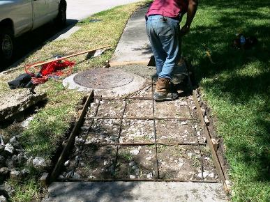 """How much does it cost to repair concrete in Spring TX"