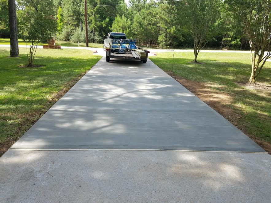 concrete driveway repair contactors