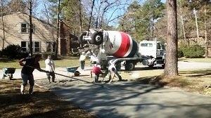 driveway repair in Houston TX
