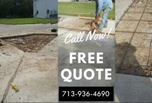 image saw cut concrete parking lot